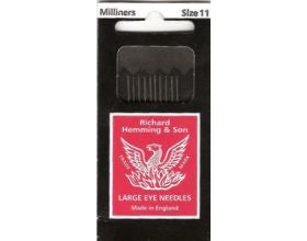 Hemming Size 11 Milliners Needles - 10
