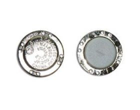 Magnet Closure Sew on - Silver