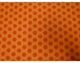 Orange Dot Orange - Fabric