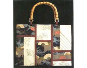 Sashiko Windows Handbag