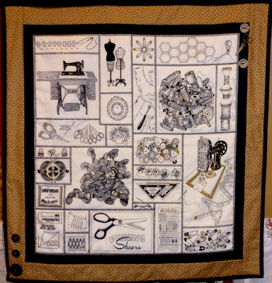 Stitchers Joy Quilt Wall Hanging