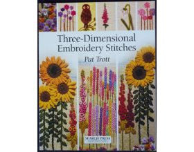 Three-Dimensional Embroiderey Stitches