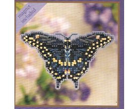 Black Swallowtail - Glass Bead Kit