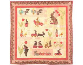 Rabbits Prefer Chocolate - Quilt Pattern Set