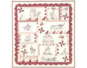 Rabbits Prefer Embroidery - Quilt Pattern