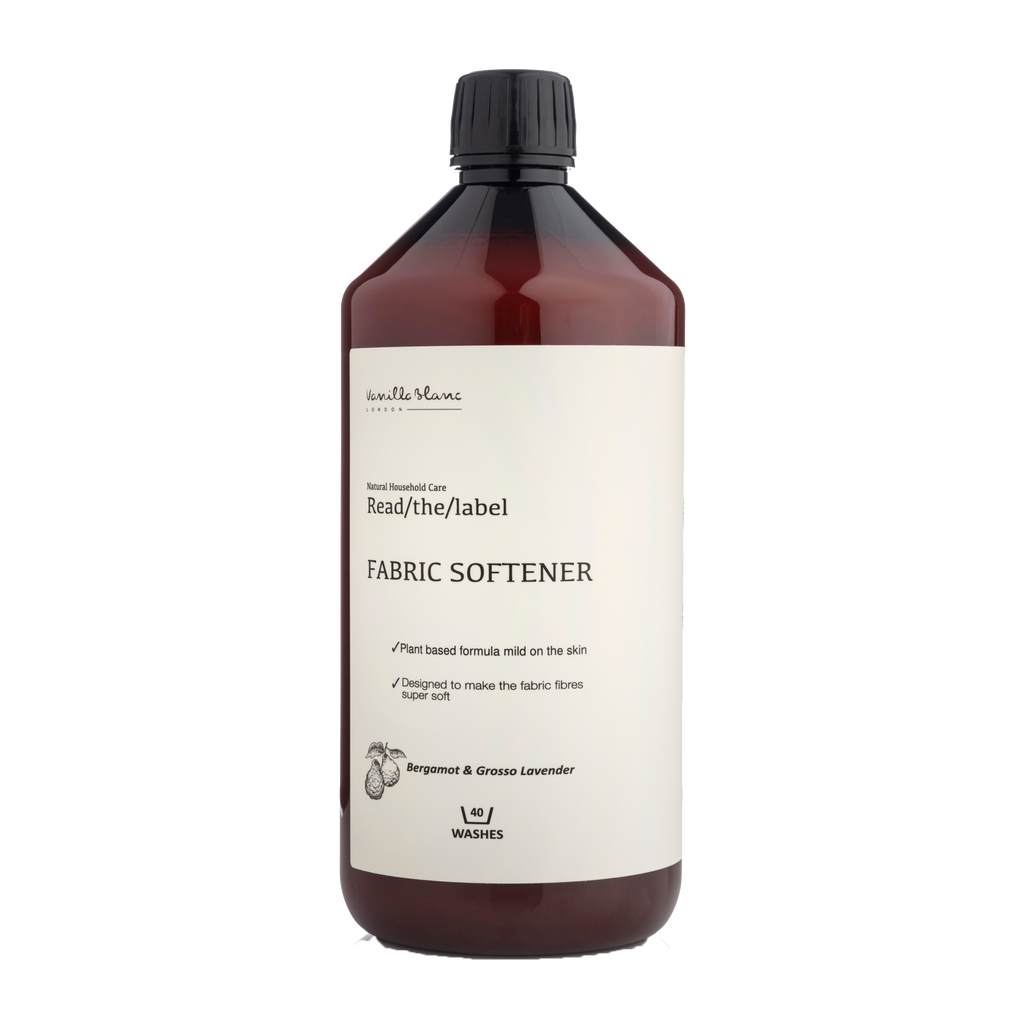 Natural Fabric Softener - Bergamot & Grosso Lavender