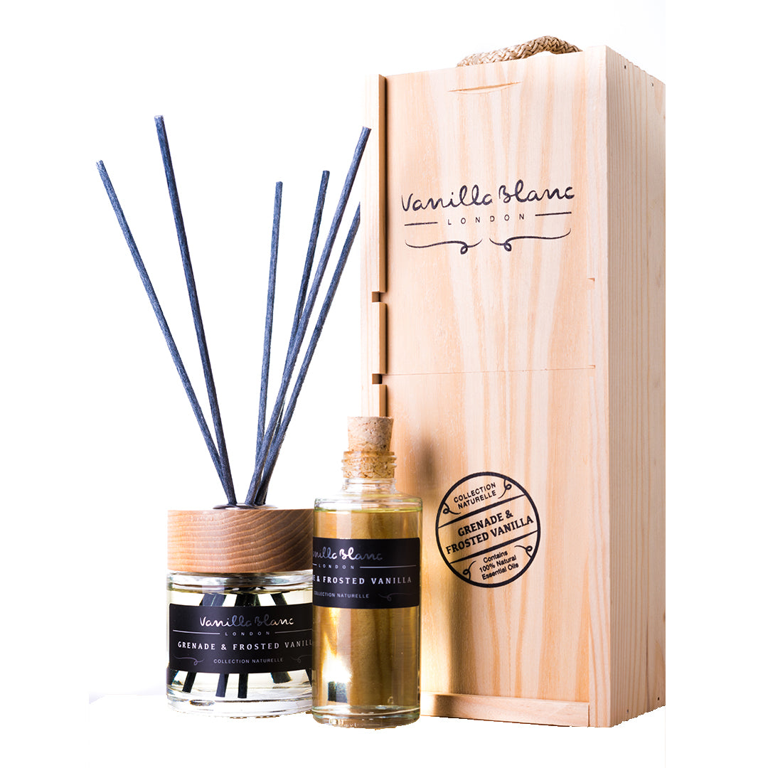 Grenade & Frosted Vanilla Complete Reed Diffuser Set