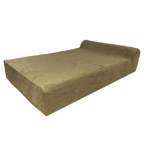 Big Paws memory foam dog bed orthopedic beige extra large