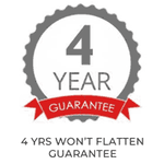 Image of 4 YEARS WON'T FLATTEN GUARANTEE