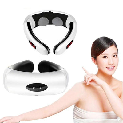1 Electric Pulse Back Shoulder Neck Massager