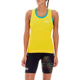 'Battersea Park' Running Singlet (Sunshine Yellow)