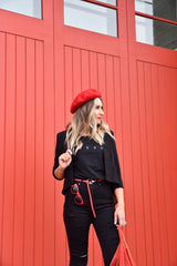 Bea Beret Red - Was $30.00