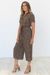 Evy Jumpsuit Floral - Was $59.95