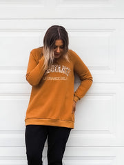 Michigan Sweater Tan - Was $59.95
