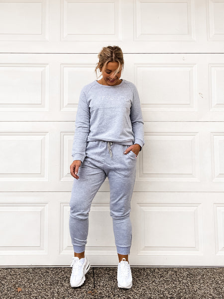 Freedom Track Pants - Grey