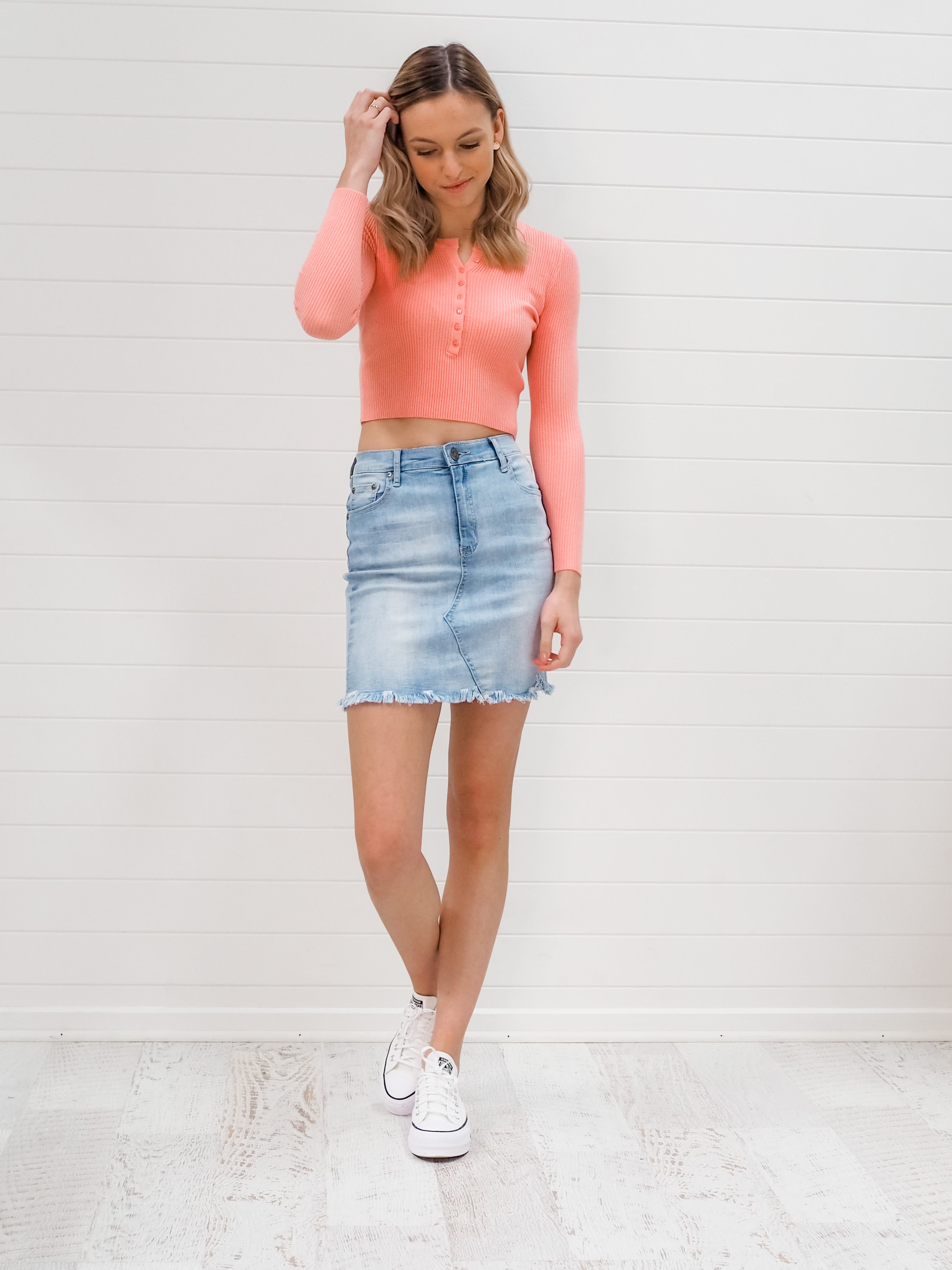 Jemma Top - Coral