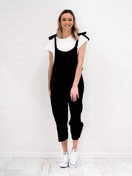 Taylor Overalls - Black