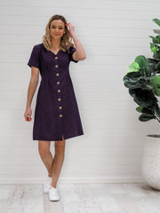 Shiloh Dress - Navy