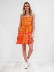 Lolly Dress - Orange