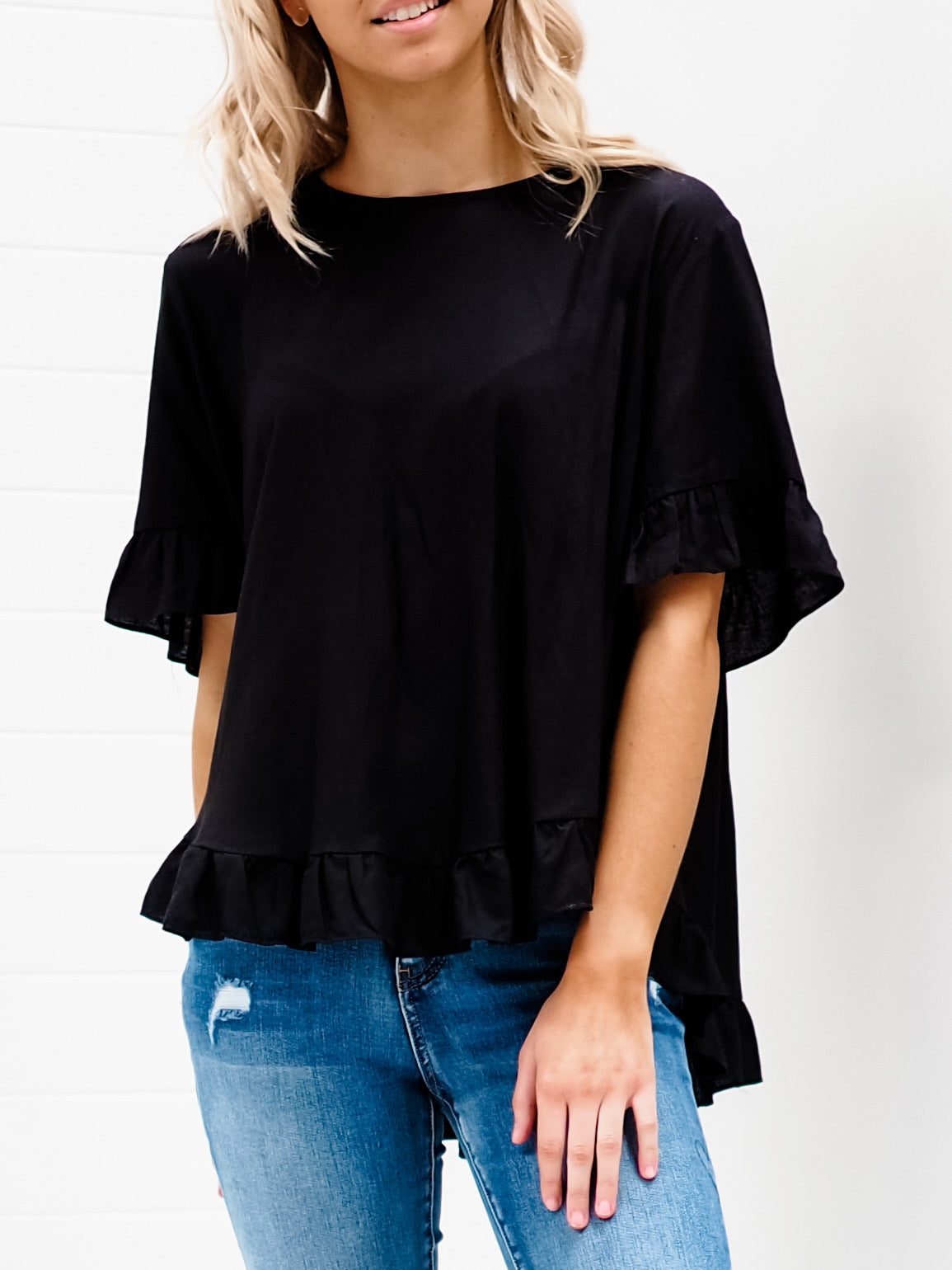 Suzie Blouse - Black