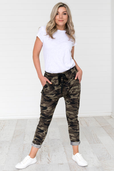 Jimmi Lounge Pants - Camo