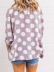 Bronte Blouse - Grey