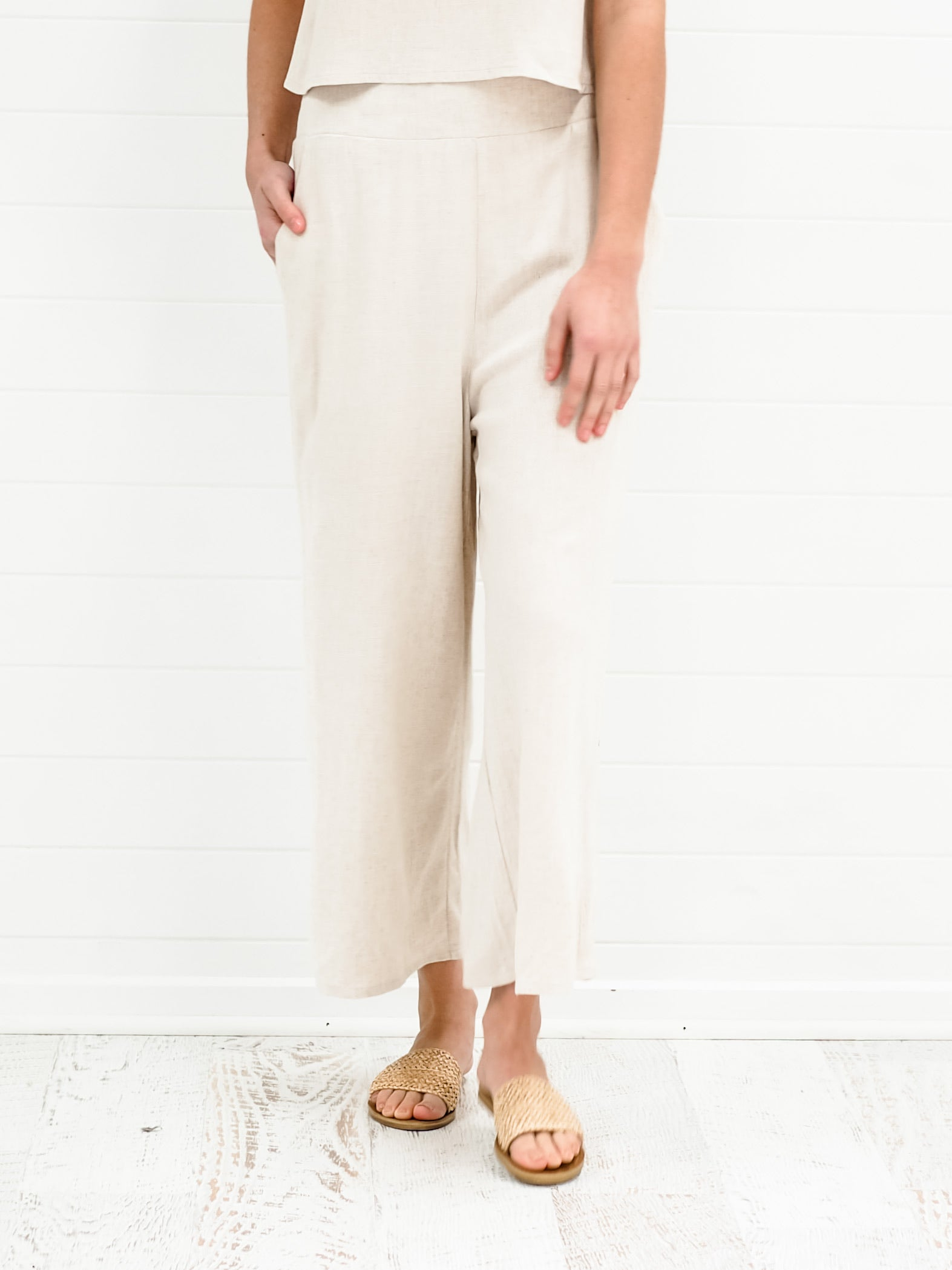 Rhianna Pants - Natural