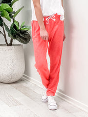 Jamie Sweat Pants - Coral