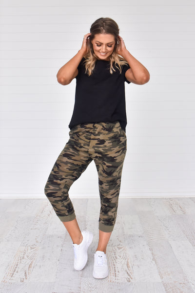 Carter Joggers - Camouflage