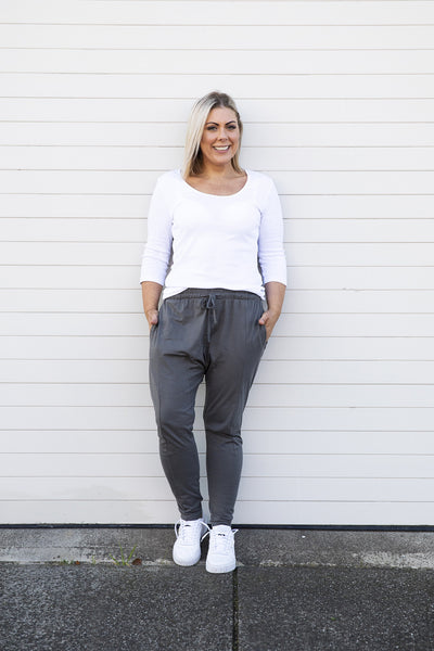 Lucas Joggers Grey - Was $59.95