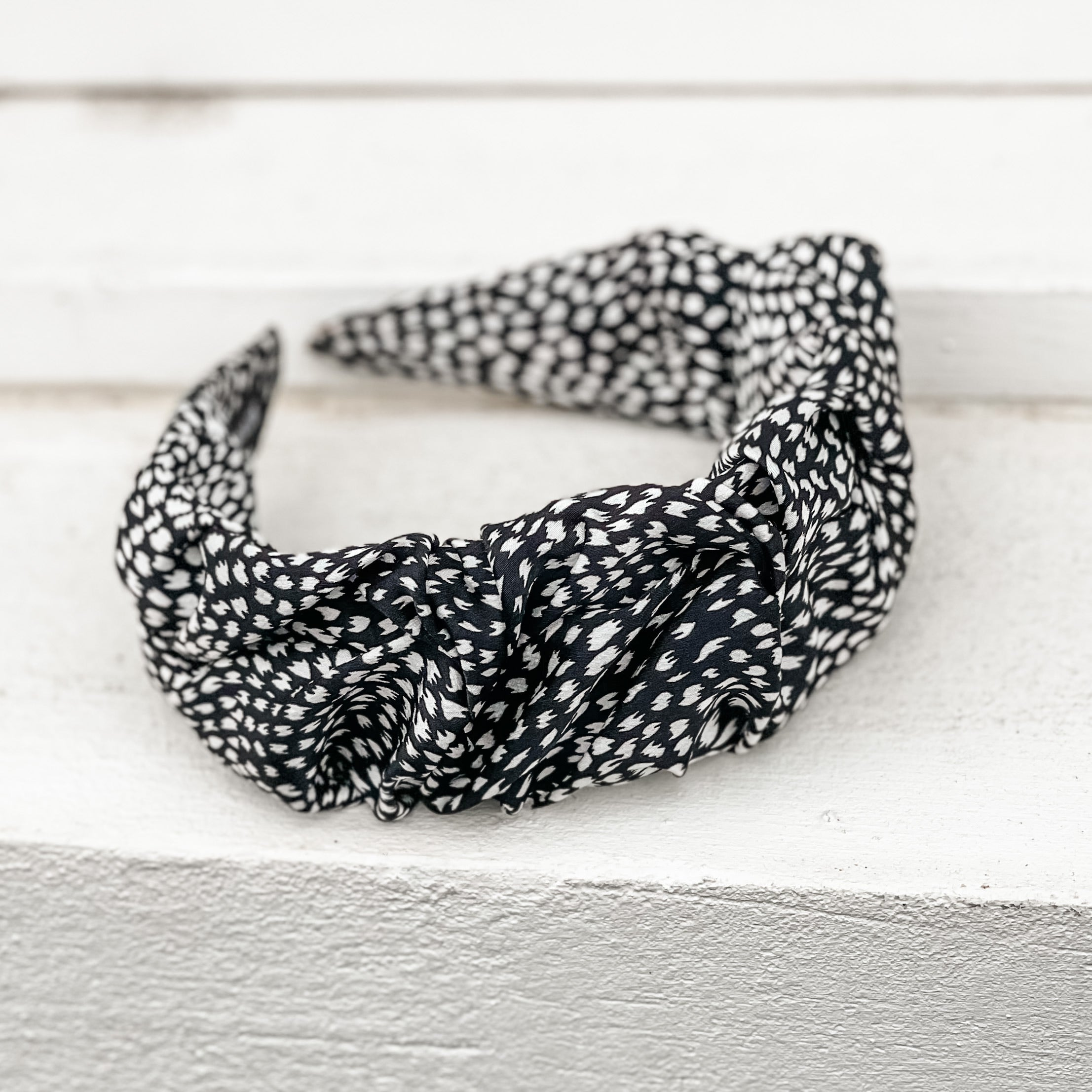 Topsy Headband - Black