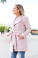 Priscilla Coat - Blush