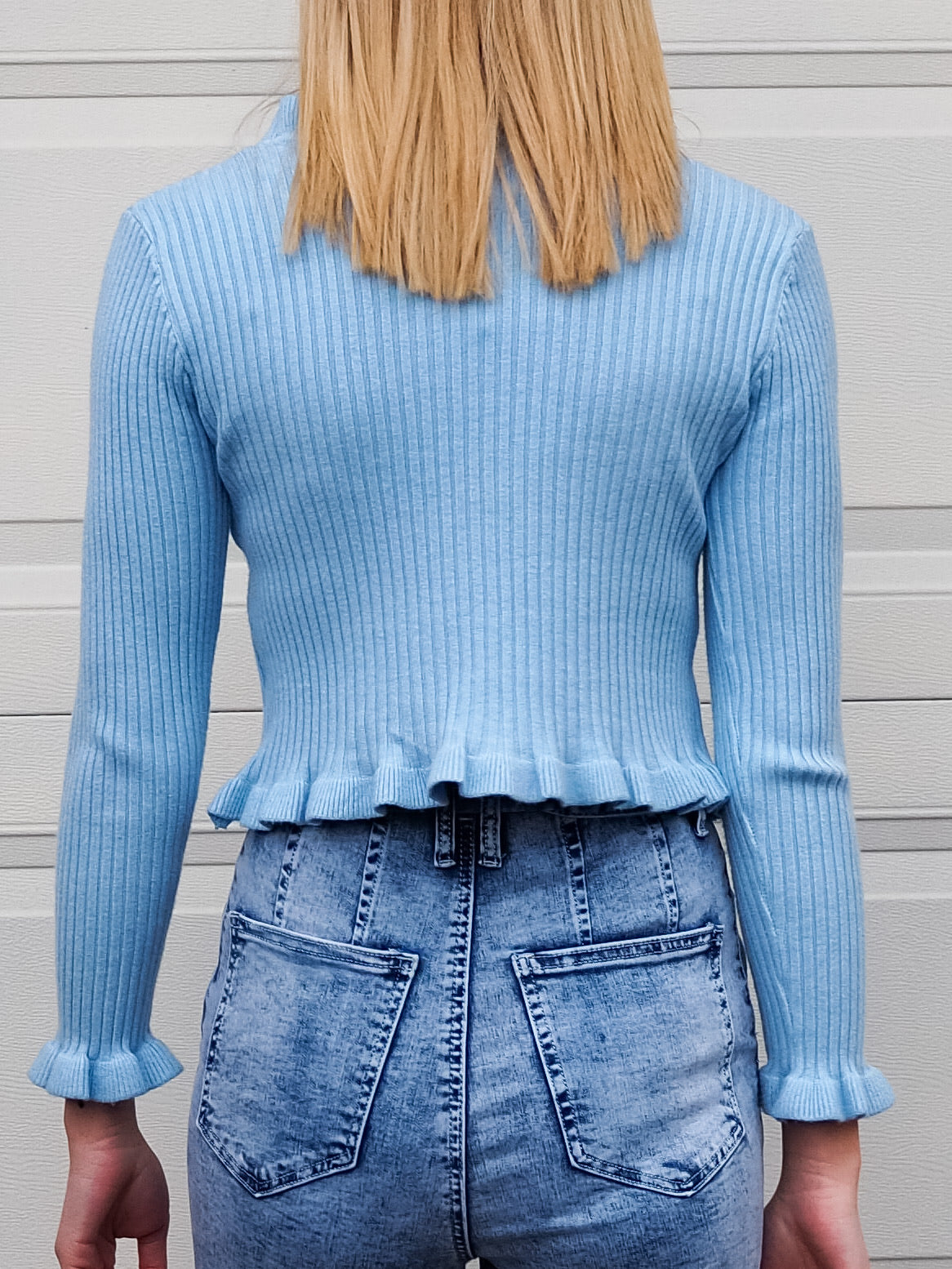Molly Cardi Powder Blue - Was $59.95