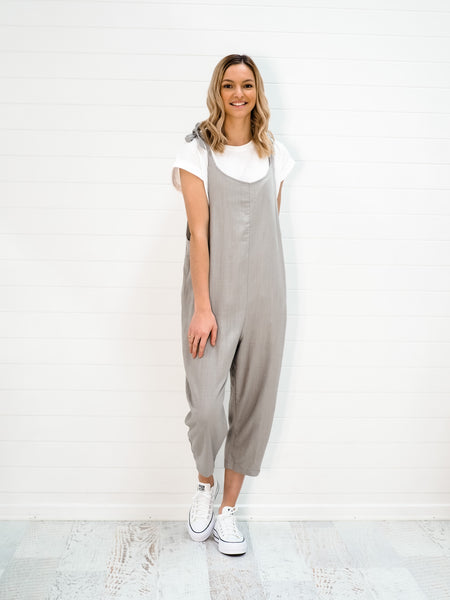 Taylor Overalls - Grey