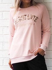 Michigan Sweater - Blush
