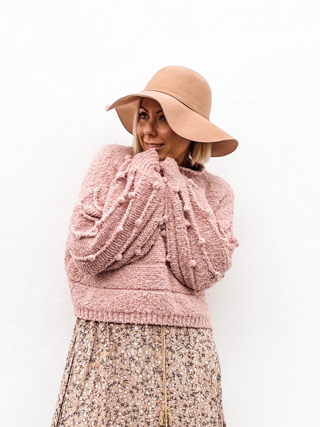 Priscilla Knit - Blush