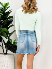 Jemma Top - Mint Green