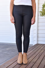 Toni Waxed Jeggings