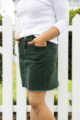 Suzy Skirt - Emerald