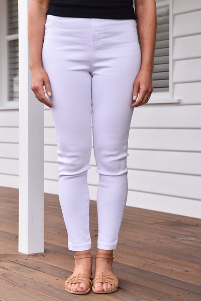 Miley Jeggings - White