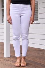 Miley Jeggings White - Was $49.95