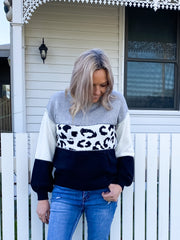 Lucy Jumper Grey - Was $69.95