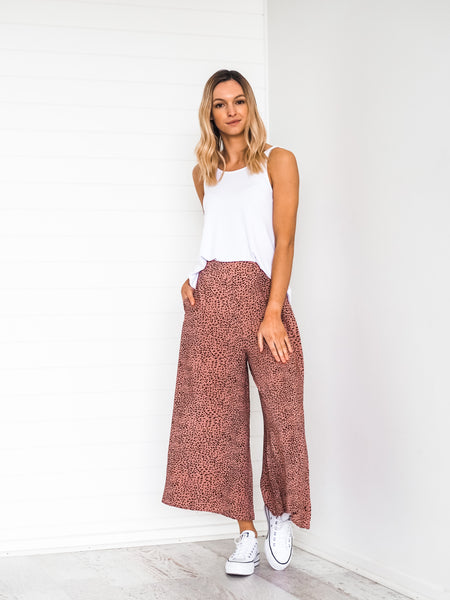 Kinsley Culottes - Antique Rose