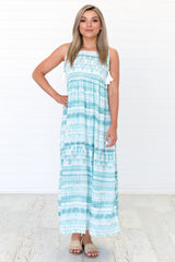 Cool Water Maxi Dress
