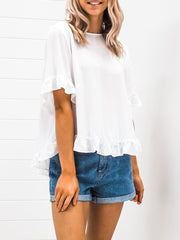 Suzie Blouse - White