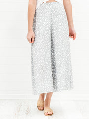 Lily Culottes - Grey Leopard