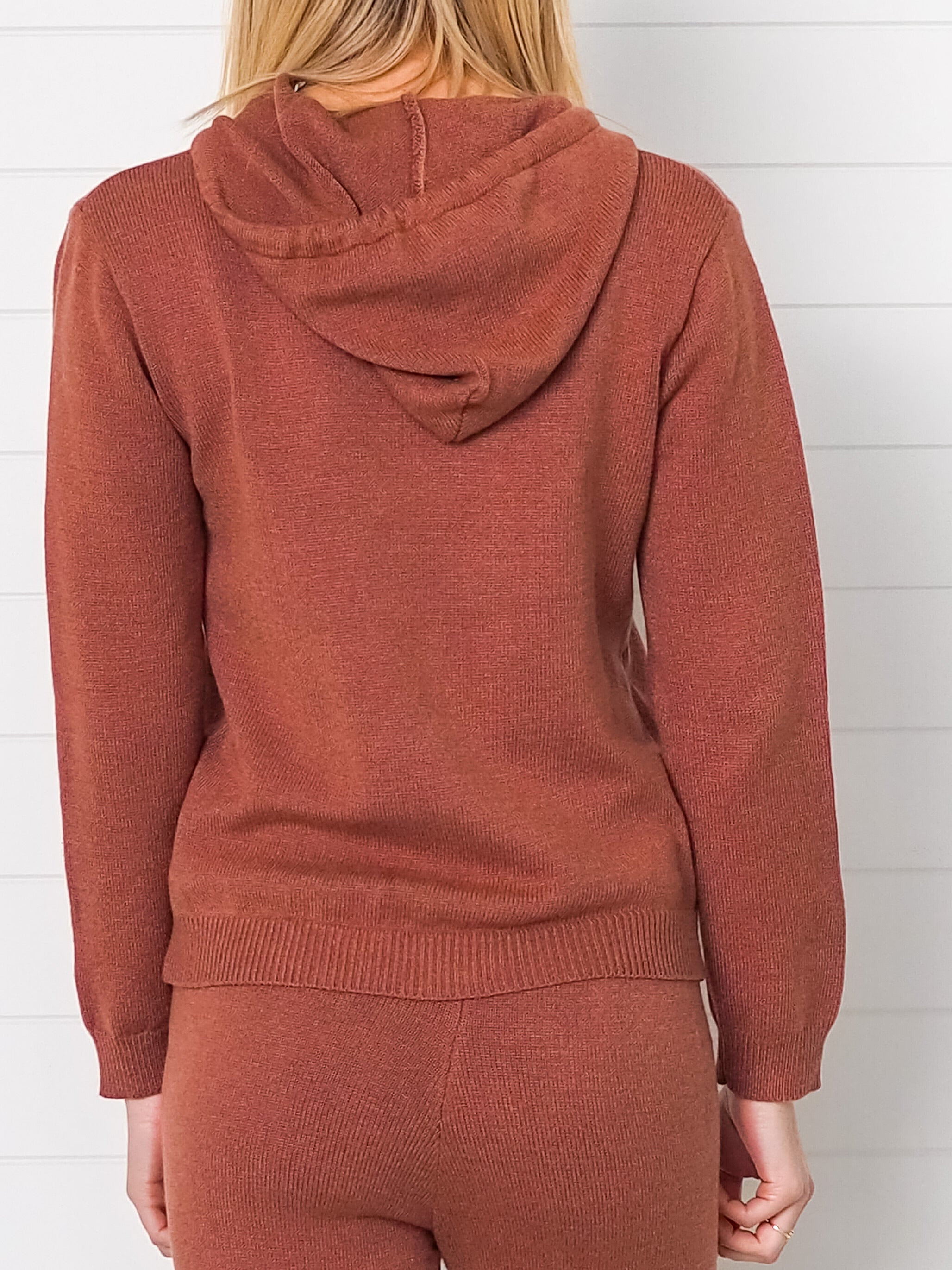 Bec Knitted Hoodie