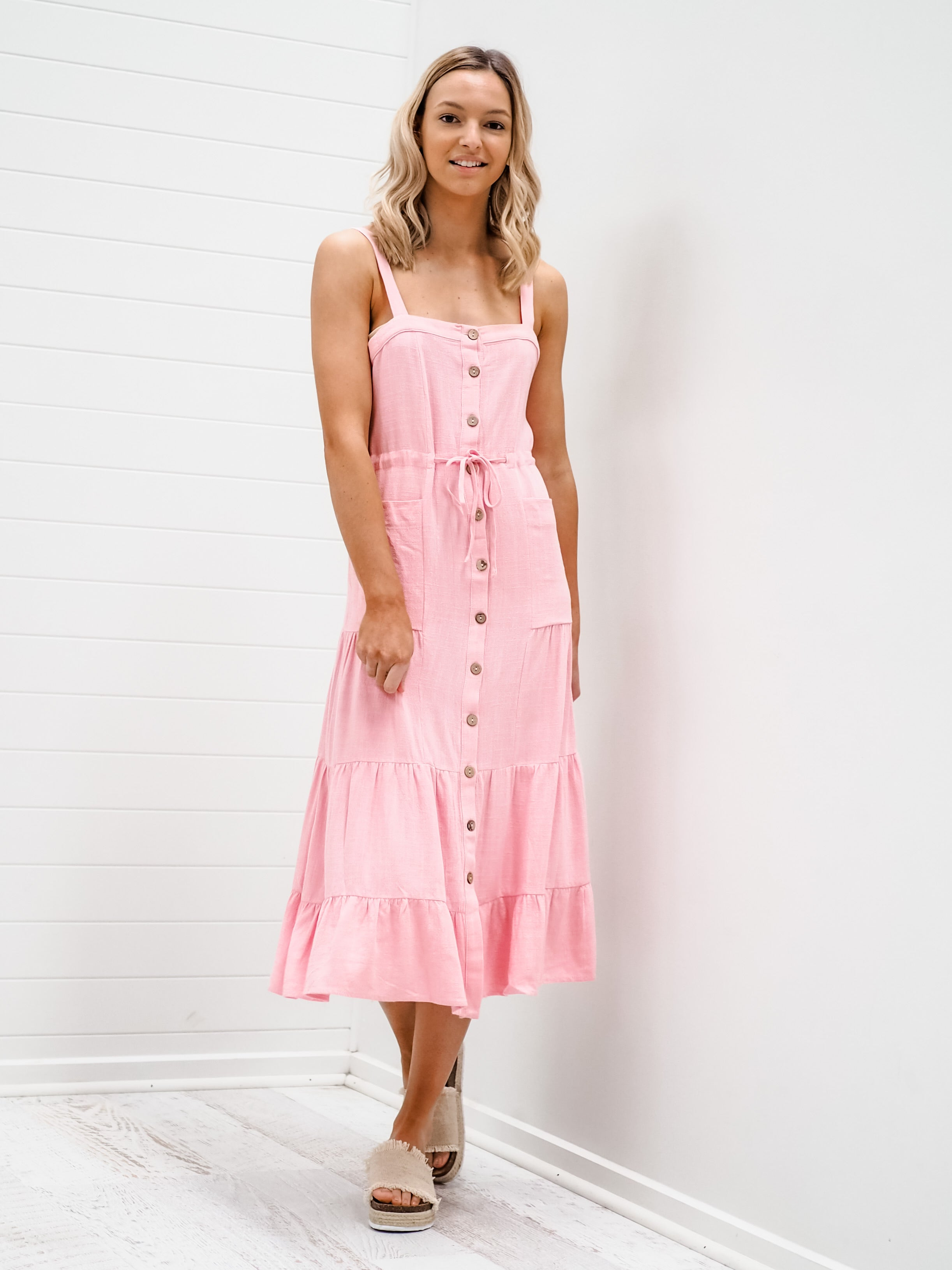 Bella Dress - Pink