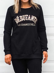 Michigan Sweater  Black - Was $59.95