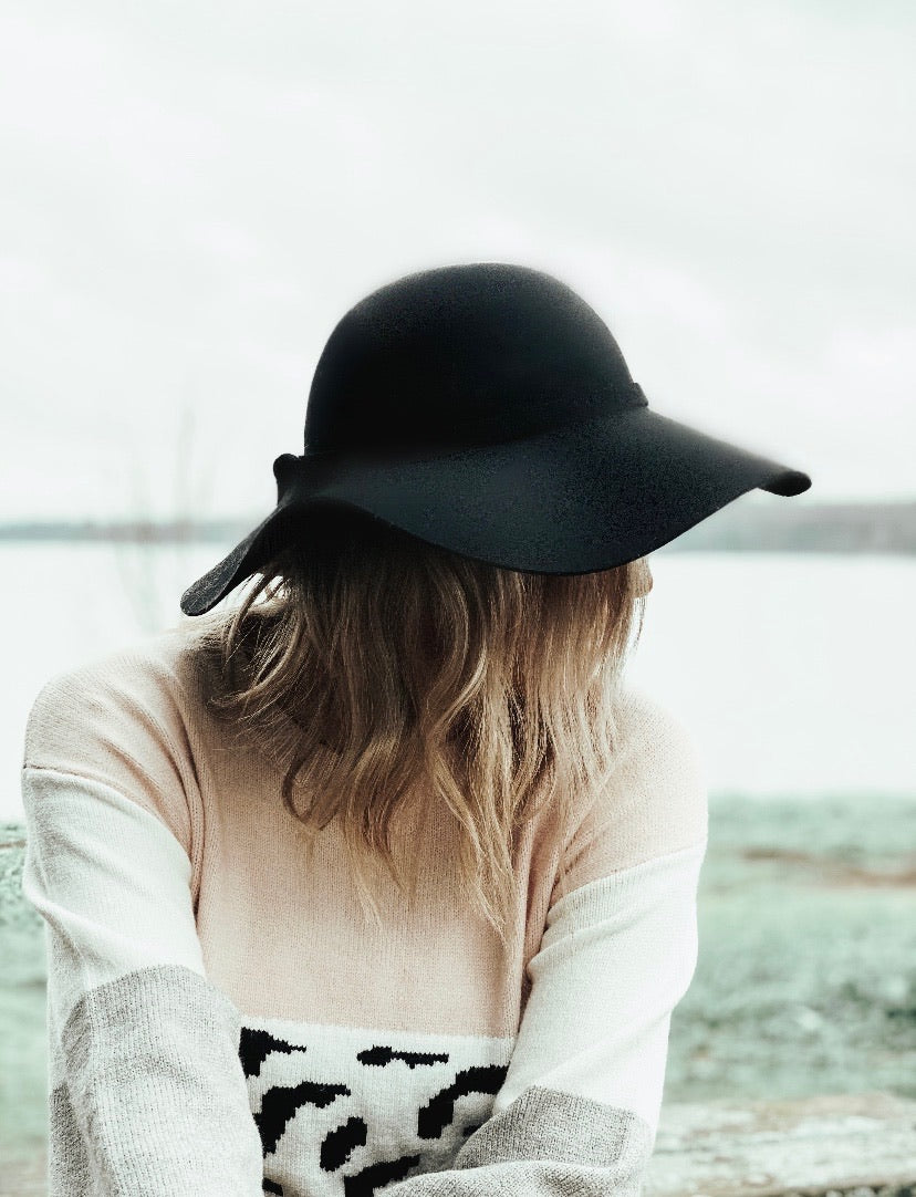 Riviera Hat - Black